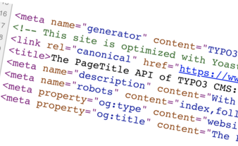 The PageTitle API of TYPO3 CMS: how to use it?